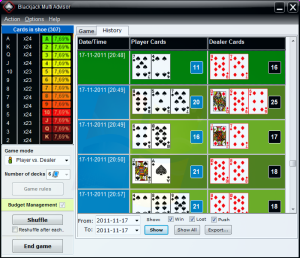Blackjack golden 21